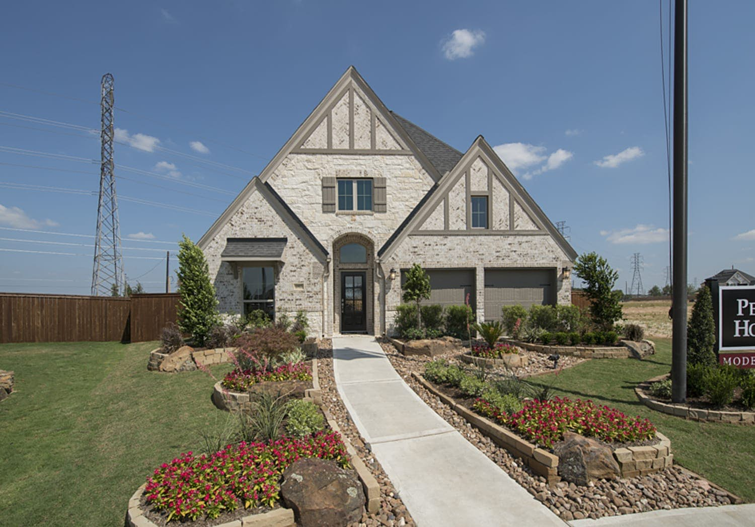 Perry Homes at Cane Island 1