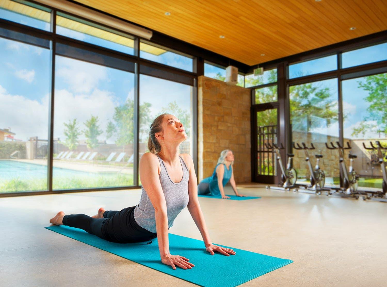 Yoga at Cane Island Fitness Center