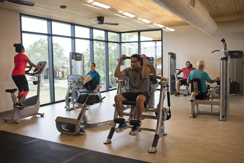 24/7 Fitness Center at Cane Island
